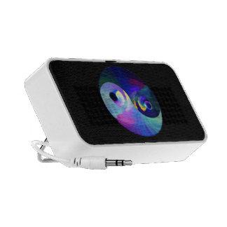 Rainbow Taijitu Yin Yang iPhone Speakers