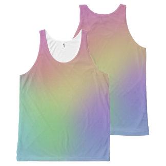 Rainbow Tank All-Over Print Tank Top