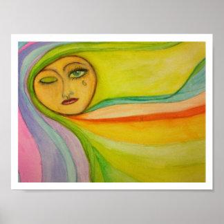 Rainbow Tear Poster