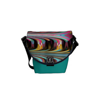 Rainbow tempest courier bags