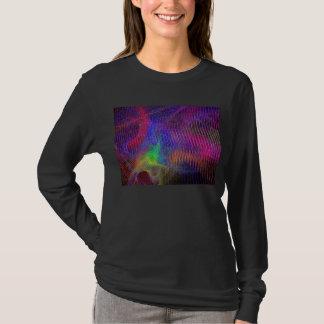 Rainbow Texture Fractal T-Shirt