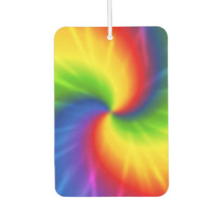 Rainbow Tie-Dye Car Air Freshener