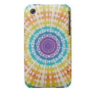 Rainbow Tie Dye Case-Mate iPhone 3 Case