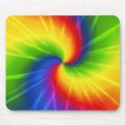 Rainbow (tie-dye) mouse mat