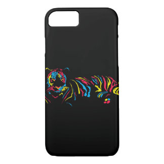 Rainbow tiger iPhone 8/7 case