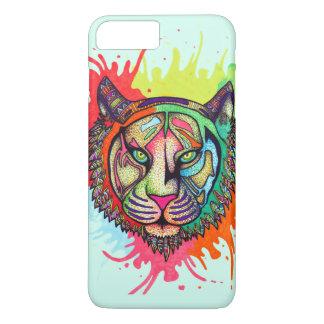 Rainbow Tiger iPhone 8 Plus/7 Plus Case
