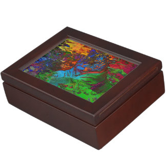 Rainbow Tiger Memory Box