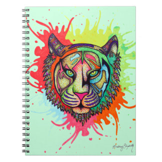 Rainbow Tiger Notebooks