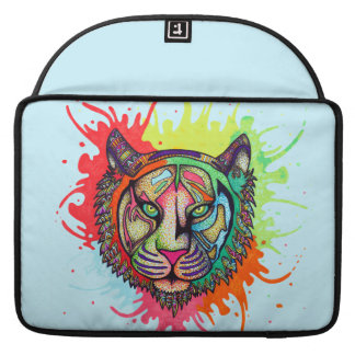 Rainbow Tiger Sleeve For MacBook Pro