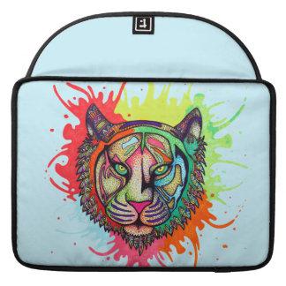 Rainbow Tiger Sleeve For MacBooks