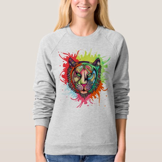 Rainbow Tiger Sweatshirt