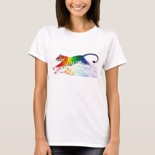 """Rainbow Tiger"" Women's T-shirt"