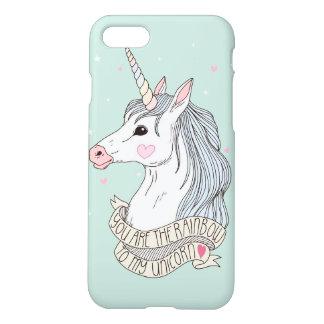 Rainbow to my Unicorn iPhone 8/7 Case