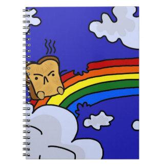 Rainbow Toast Notebook