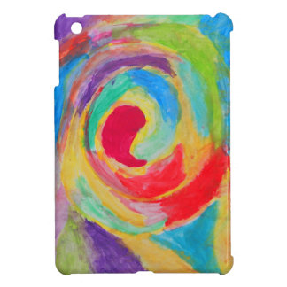 Rainbow Tornado iPad Case