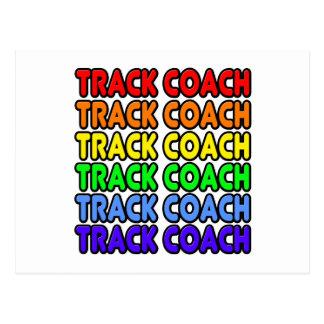 Rainbow Track Coach Postcard