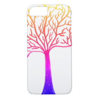 Rainbow tree iPhone 8/7 case