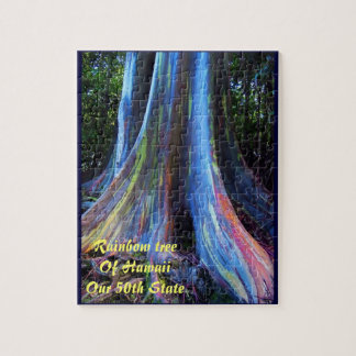 Rainbow Tree of Hawaii Puzzle and Gift Box
