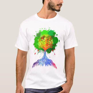 Rainbow Tree of Life T-Shirt