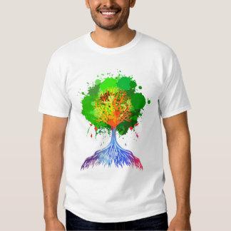 Rainbow Tree of Life Tees
