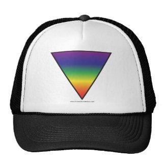 Rainbow Triangle Hat