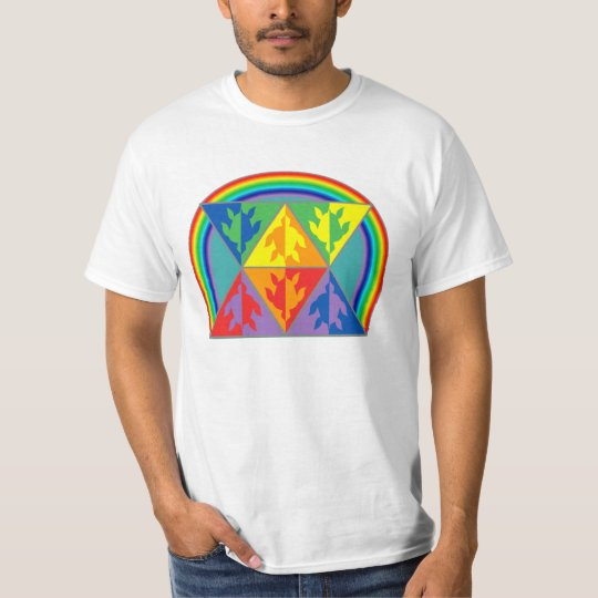 Rainbow Triangle Turtles Apparel T-Shirt