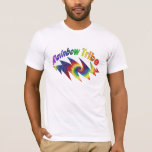 Rainbow Tribe Fitted T-Shirt
