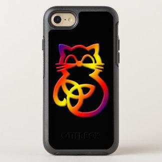 Rainbow Trinity Knot Celtic Cat  Apple iPhone 8/7