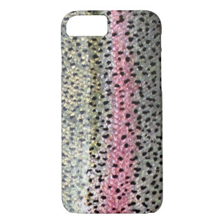 Rainbow Trout by PatternWear© iPhone 8/7 Case