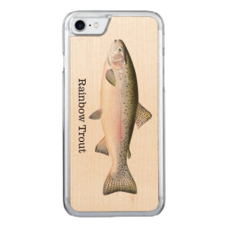 Rainbow Trout Fish Carved iPhone 8/7 Case