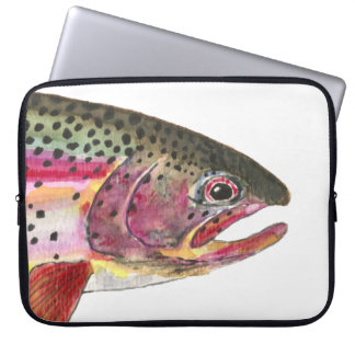 Rainbow Trout Fish Laptop Sleeve