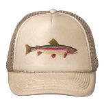 Rainbow Trout Fish Mesh Hats