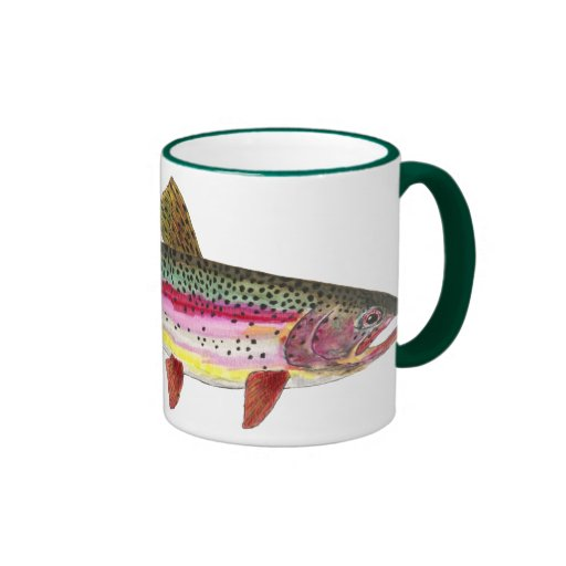 Rainbow Trout Fish Coffee Mug