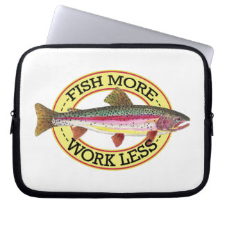 Rainbow Trout Fishing Laptop Sleeve