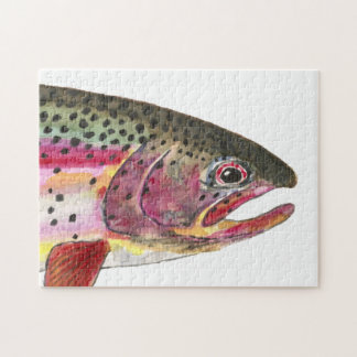 Rainbow Trout Fishing Puzzles