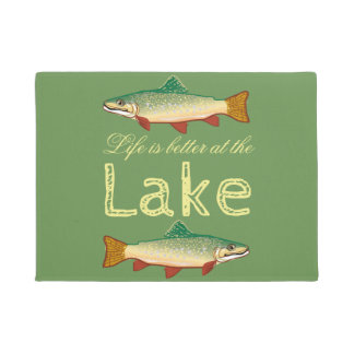Rainbow Trout | Green Life is better at the Lake Doormat