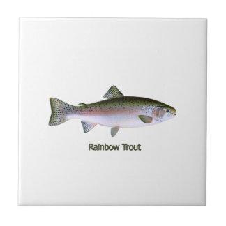 Rainbow Trout Logo Tile