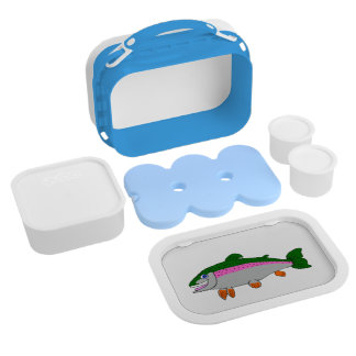 Rainbow trout lunch box