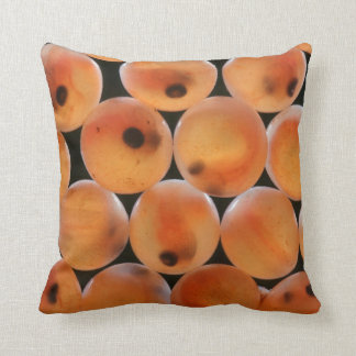 Rainbow Trout (Oncorhynchus Mykiss) Roe Throw Pillow