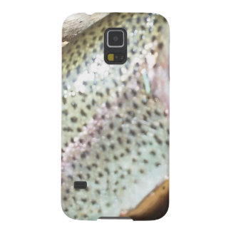 Rainbow trout skin cell phone galaxy s5 cases