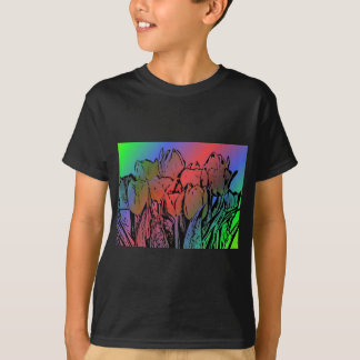 Rainbow Tulips T-Shirt