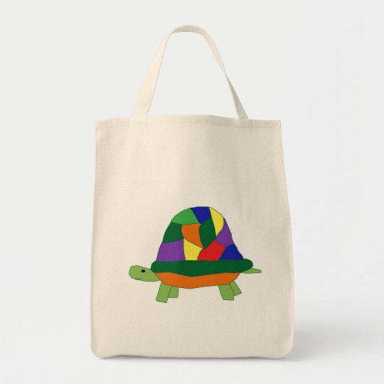 Rainbow Turtle bag