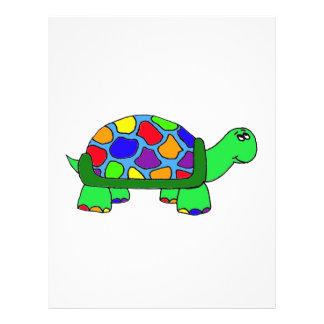 Rainbow Turtle Full Color Flyer