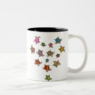 Rainbow Turtle Heart Mug