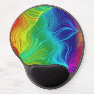 Rainbow Twilight Mouse Pad Gel Gel Mouse Pad