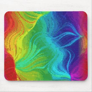 Rainbow Twilight Mouse Pad Standard Horizontal