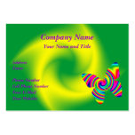Rainbow Twirl Butterfly Pack Of Chubby Business Cards
