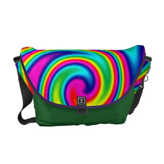 Rainbow Twirl Commuter Bag