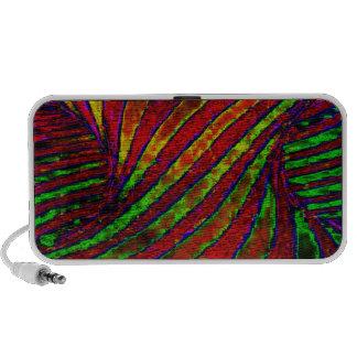 Rainbow Twister iPod Speakers