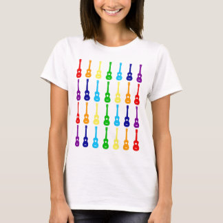 Rainbow Ukes T-Shirt